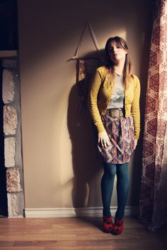 Roots and Feathers // Violet Bella: Modcloth saved the day >>> Outfits For Teens, Stylish Outfits, Cute Outfits, Work Outfits, Fall Winter Outfits, Autumn Winter Fashion, Winter Style, Dress Outfits, Fashion Outfits