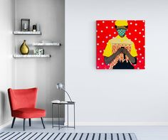 Shakes Tembani: The Gentleman: fine art | StateoftheART African Art, Canvas Size, Gentleman, Pop Art, Gentleman Style, Art Pop, Men Styles, African Artwork
