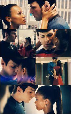 Star Trek 2009 - Spock and Nyota Uhura