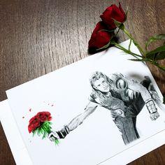 Thor Valentine's Day Card   Chris Hemsworth Card