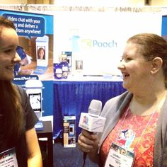 Just interviewed Brooke Martin of icPooch at #globalpetexpo