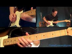 Parisienne Walkways Guitar Solo Lesson - Gary Moore - Famous Solos - YouTube