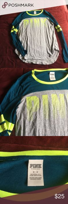 VS long sleeve! Worn once! Awesome condition VS long sleeve! Worn once! Awesome condition PINK Victoria's Secret Tops Tees - Long Sleeve