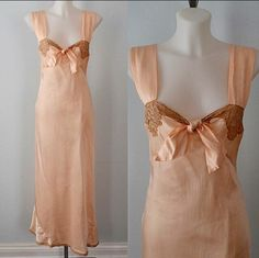 A personal favorite from my Etsy shop https://www.etsy.com/ca/listing/264778834/1930s-lingerie-1930s-nightgown-wedding
