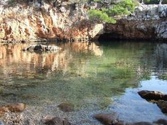 The dead sea lake on Lokrum island, off Dubrovnik, Croatia. Beautiful and peaceful. Love it.