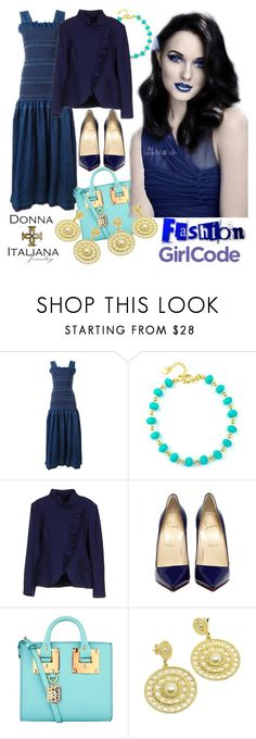 """DONNA ITALIANA JEWELRY contest with $30 prize"" by irinavsl ❤ liked on Polyvore featuring STELLA McCARTNEY, Clips and Sophie Hulme"