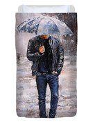 Rainy Day #23 Duvet Cover