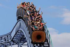 coming of age day | toshimaen amusement park | tokyo, japan 2017 | foto: kiyoshi ota