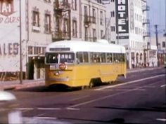 Last Street Cars - So Long Los Angeles Streetcars - March 1963 - YouTube