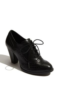 Free shipping and returns on Børn 'Waverly' Bootie at Nordstrom.com. A lovely stacked heel lifts a dapper wing-tip bootie designed with Opanka construction.