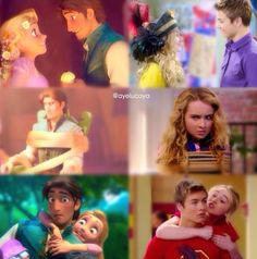 Tangled and lucaya ❤️❤️