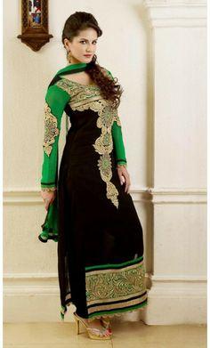 on Pinterest | Punjabi Suits, Punjabi Salwar Suits and Patiala Salwar ...