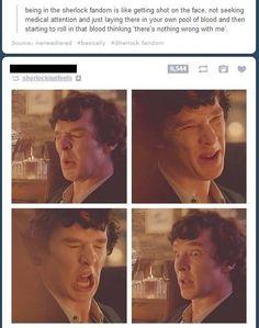 Sherlock's faces describe this so accurately