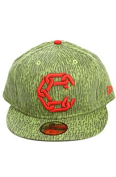 Crooks and Castles  The New Chain C Jungle Fitted Hat in Rain Camo  $40.00 qty 8