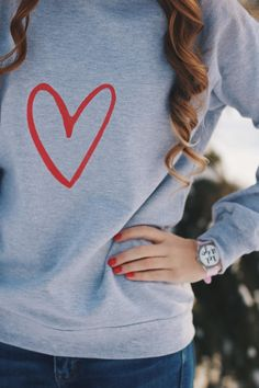 dancelove is a clothing line created to share your love of dance everyday. This everyday sweatshirt is super soft! Winter Love, Crew Neck Sweatshirt, T Shirts For Women, Sweatshirts, Clothes, Collection, Tops, Check, Fashion