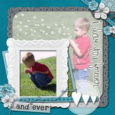 Layout by MelissaKay using Twitterpated Digital Scrapping Kit by Simple Girl Scraps