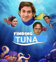 I can't 😂😂😂Finding Tuna Really Funny Memes, Stupid Funny Memes, Hilarious, The Funny, Best Of The Office, The Office Show, Office Jokes, Office Fan, Office Wallpaper