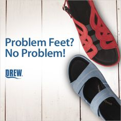 Get extra wiggle room for problem feet with Drew.