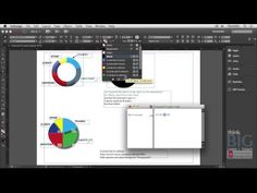 ▶ Creating Graphs in Adobe InDesign - YouTube