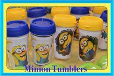 Minion tumblers...