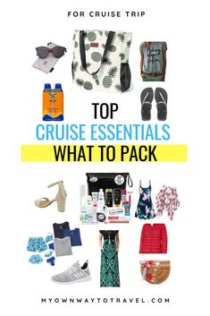 Cruise essentials packing list | what to pack for a cruise checklist | cruise must haves packing list | cruise packing list | cruise packages | first time cruiser pack | what should you pack for a cruise | what should you not forget on a cruise | top cruise packing list items | ultimate cruise packing list | tips for every cruise #cruise #cruisetrip #packing #packinglist #cruiseessentials #cruisechecklist #myownwaytotravel Cruise Checklist, Packing List For Cruise, Packing Lists, Ways To Travel, Travel Hacks, Travel Advice, Travel Tips, Top Cruise, Cruise Travel