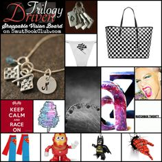 Driven Trilogy by K Bromberg Shoppable Vision Board http://smutbookclub.com/vision-board-driven-trilogy/
