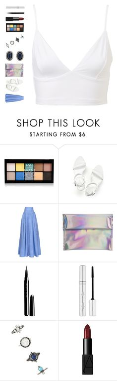 """""""Sem título #503"""" by ouchm4rvel ❤ liked on Polyvore featuring NYX, Kimberly McDonald, Alexander Wang, Rosie Assoulin, Hello Parry, Marc, Zelens, Forever 21 and NARS Cosmetics"""