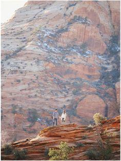 Utah Wedding Photographer | Winter Zion National Park Engagement {Braden Sara} | http://www.gideonphoto.com/blog