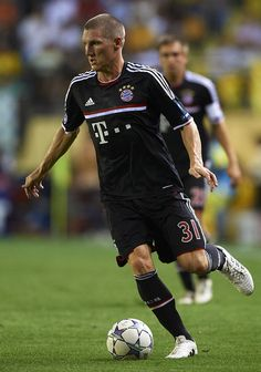 Bastian Schweinsteiger. #Soccer #Futball #Football #BayernMunich