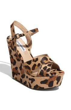 Animal print is a HUGE trend this fall. Pair these with a little black dress for a great going-out look!