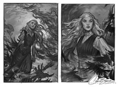 Some of the sketches that went into Margaret Rogerson's An Enchantment of Ravens cover. Character Illustration, Illustration Art, Character Inspiration, Character Art, Character Portraits, Throne Of Glass, Book Characters, Art Inspo, Art Reference
