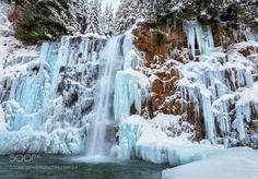 Franklin Falls Cascade Mountains WA by drjhnsn via http://ift.tt/2j18g1h