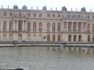 Versailles, vue par les jardins