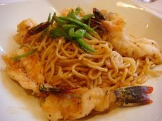 Crustacean Beverly Hills // the Famous Garlic noodles