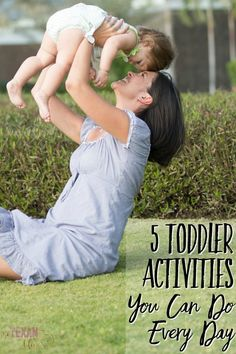 5 Toddler Activities You Can Do Every Day