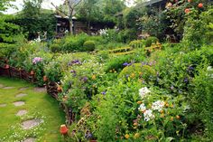 Cottage garden, June first