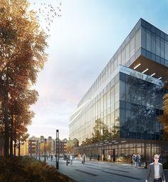Vilnius, Library on Behance