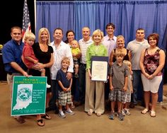 Red Wing Software Customer, The Campbell Family (Total Seed Production, Inc.) Receives Sesquicentennial Award