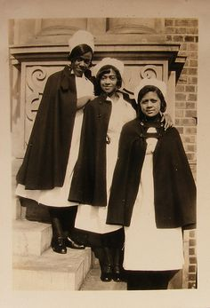 Visiting Nurse Association St. Louis - Historical Early Black Nurses 1935 by @nursingpins, via Flickr