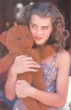 "Brooke Shields on the set of ""Wanda Nevada,"" 1979."
