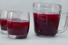 Pulpy grape juice Grape Juice, Liquid Measuring Cup, Juices, Vegetables, Fruit, Cooking, Kitchen, Vegetable Recipes, Juice