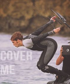 """""""While I'm trying to think what that means and how I should act- maybe throw up or something- Finnick has positioned himself at the edge of the water."""" -- I am squealing on the inside"""