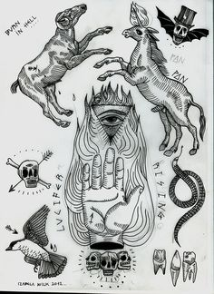 My own flash sheets and tattoo designs. Also ideas and projects for my paintings. / www.blametattoosdawidwolf.tumblr.com /  dont use it without my permission, regards of the print/ tattoo design please email me: kusiakawa@hotmail.co.uk :)
