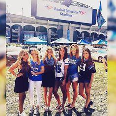 Carolina Panthers Game Day Style // Football Fashion