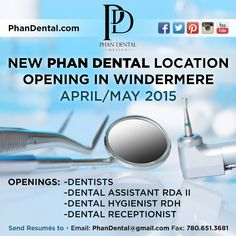 We are looking for dental & administrative professionals for our team! #PhanDental