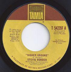 Higher Ground / Stevie Wonder / #4 on Billboard 1973