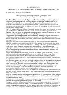 Documento creato dal Dott. Luigi Langella sul parto pilotato e i suoi metodi.