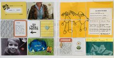 Pages created by Tully Reynolds featuring the Plus One Mini Kit (retired)