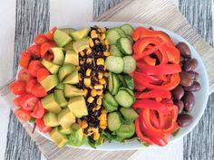 Fruit Salad, Cobb Salad, Avocado, Guacamole, Gluten, Food, Salads, Fruit Salads, Lawyer
