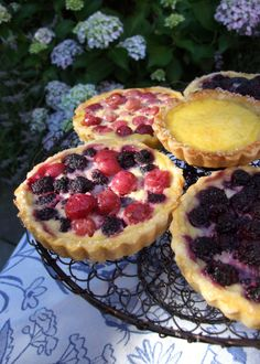 Mixed Berry Tartlets (July 2011)